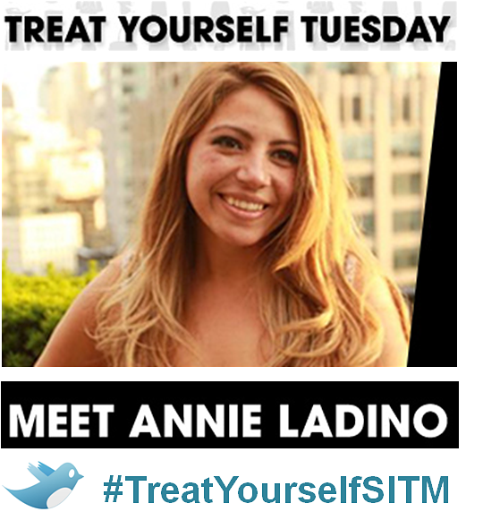 #TreatYourselfSITM Twitter Chat with Annie Ladino