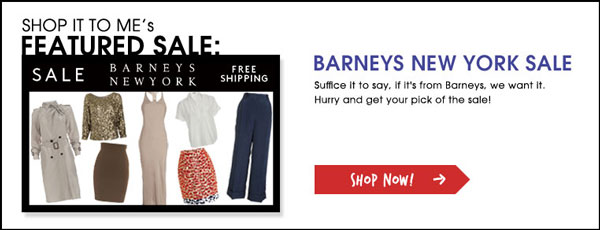 Weekly Sale Round up: Barneys NY, Cosabella, Rugby Ralph Lauren