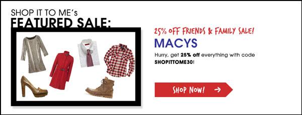 Macys Sale