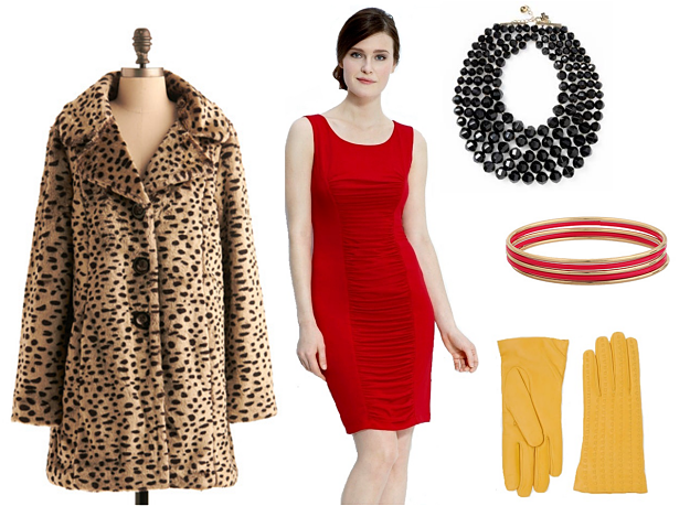 Get the look: Classic glamor girl
