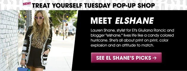 Treat Yourself Tuesday with elshane, What I Wore and Glitter Guide