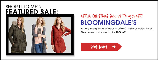 Bloomingdale's Women's Sale