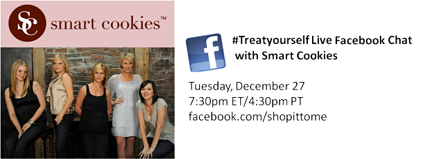 #TreatYourself with the Smart Cookies...and WIN A DELICIOUS Cookie DELIVERY!