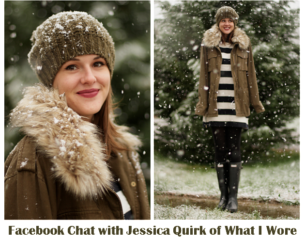#TreatYourself Facebook Party with Jessica Quirk of What I Wore