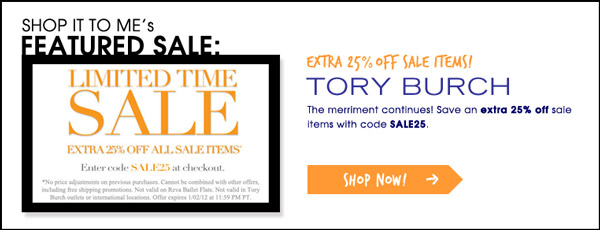 Best of After-Christmas Sales up to 75% off: Tory Burch, Bloomingdale's, Sephora, and more!