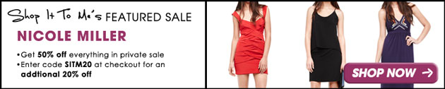 Nicole Miller Super Exclusive Sale