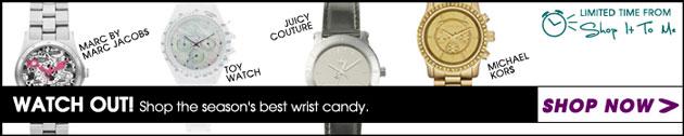 Pop-Up Shop: Watches