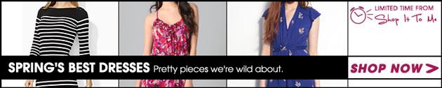Spring's Best Dresses