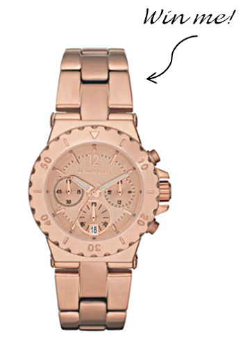 Michael Kors Watch Giveaway: Spring Forward in Style