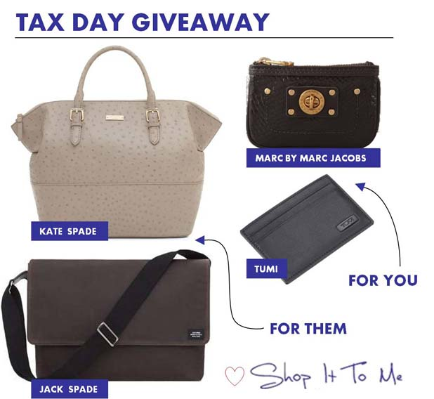 GIVEAWAY: Enter Your Accountant Friends. Make Tax Day Less Taxing