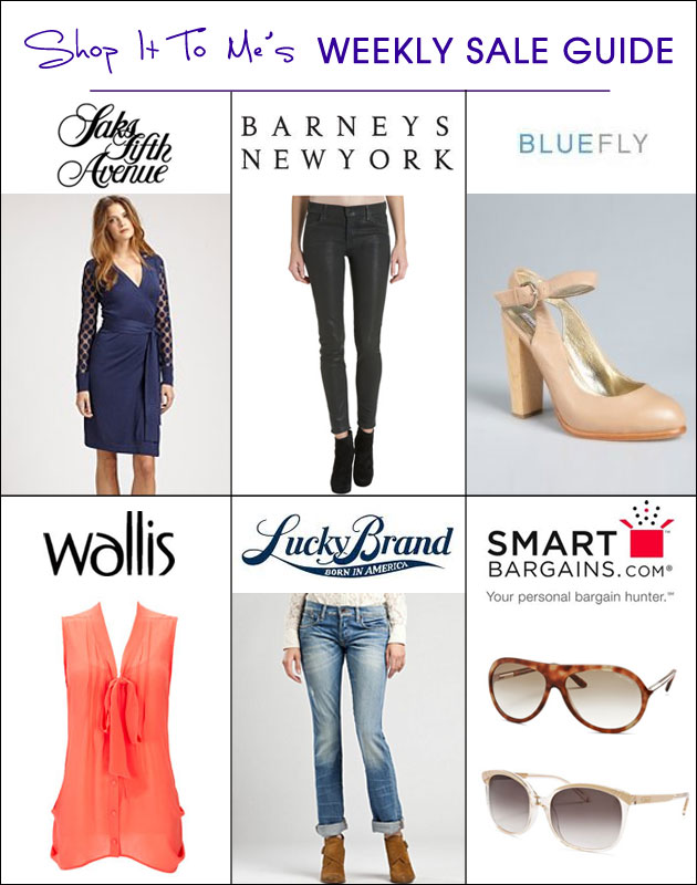 Weekly Sale Guide: Saks Fifth Avenue, Barneys New York, Bluefly and more