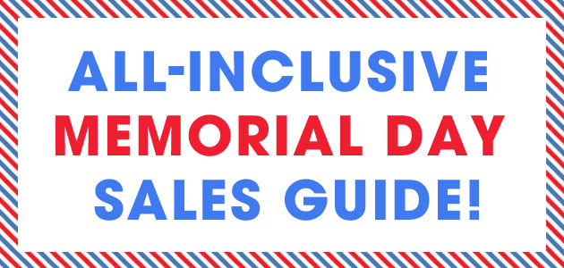 The Best Memorial Day Weekend Sales: Round-up