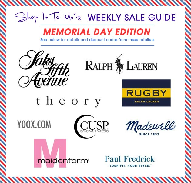 Sale Guide - Memorial Day