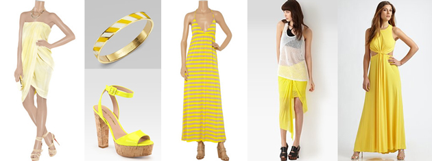 more yellow items