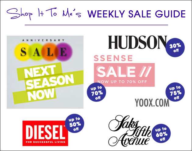 Weekly Sale Guide: Nordstrom Anniversary Sale, Hudson Jeans, SSENSE and more