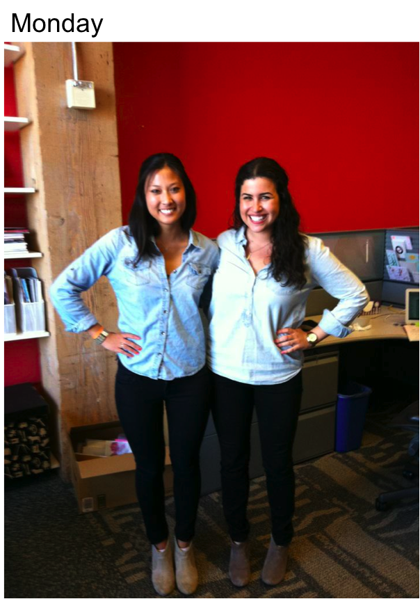 Twin Week at Shop It To Me HQ