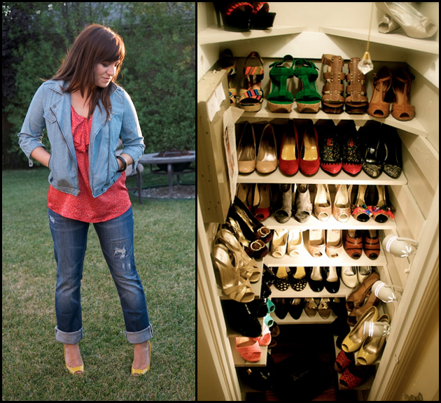 Holly | One of two shoe closets
