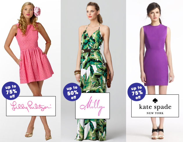 Weekly Sale Guide: Lilly Pulitzer, Milly and Kate Spade
