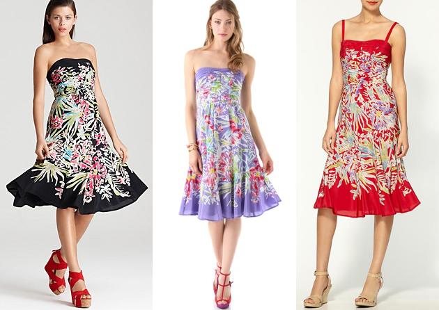 Nanette Lepore Malibu Beach Silk Dress