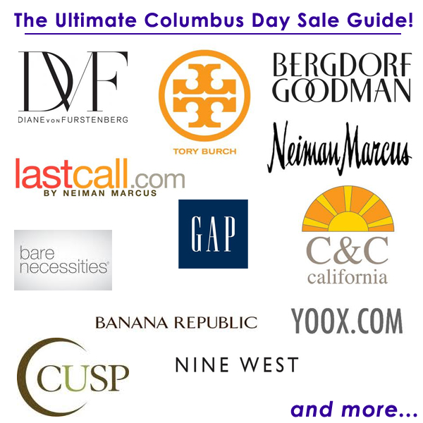The Ultimate Columbus Day Sale Guide!
