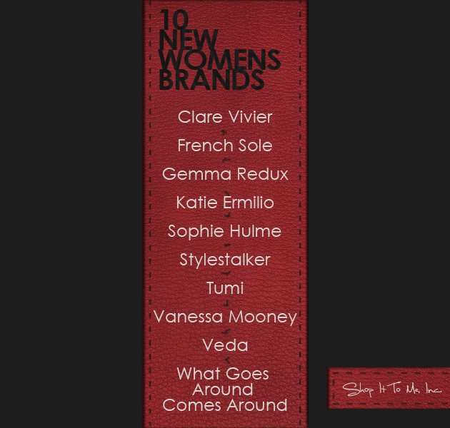 10 More New Brands This Week! Vanessa Mooney, Stylestalker, Veda and more!