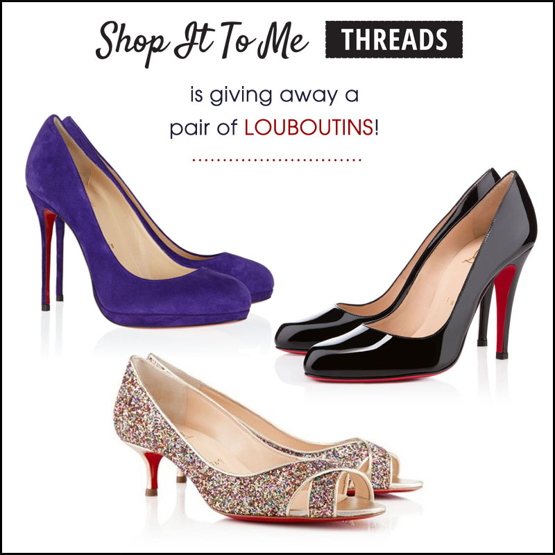 Win Louboutins, On Us -- Just By Tweeting! (Closed)