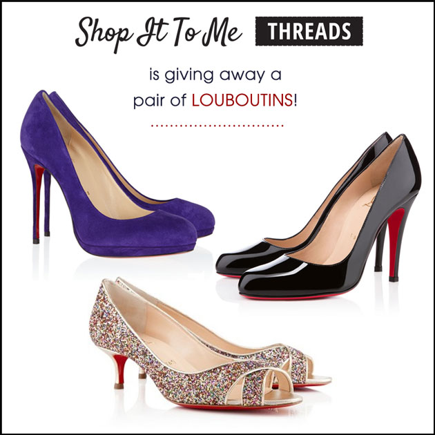 Shop It To Me is giving away a pair of Louboutins!