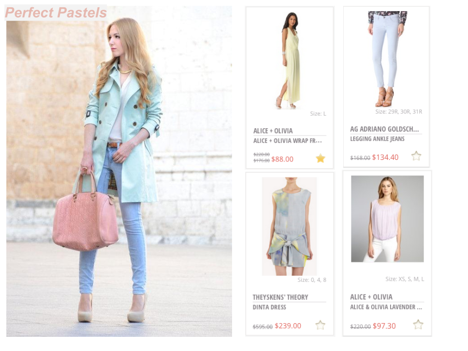 New Special Curated Thread for Summer: Perfect Pastels!