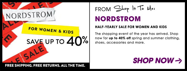 Weekly Sale Guide: Nordstrom, DVF & more
