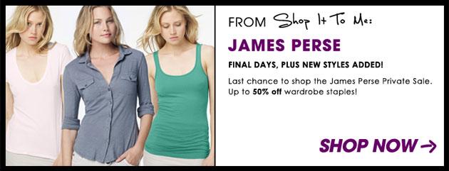 James Perse Sale