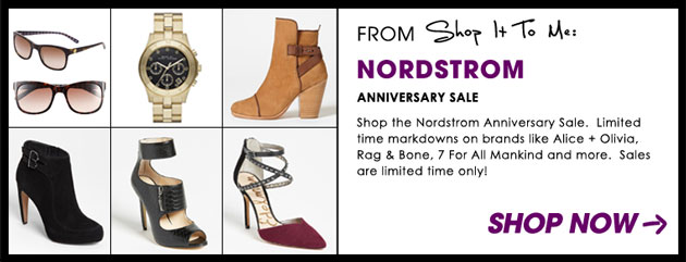 Weekly Sale Guide: Nordstrom Anniversary Sale, Tory Burch, and more!