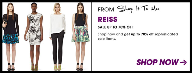 Reiss Summer Sale