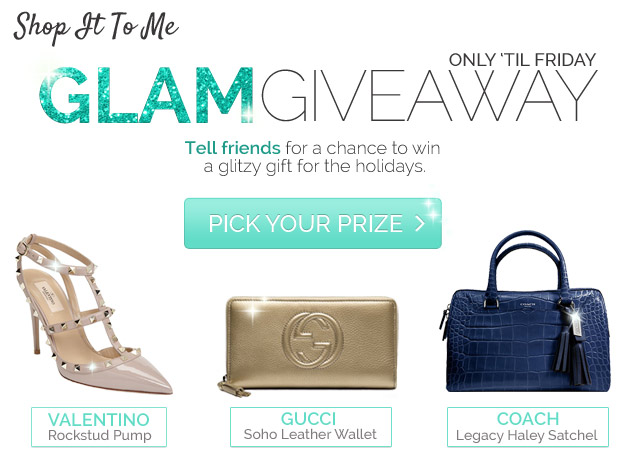 GIVEAWAY: Win Valentino, Gucci or Coach! (Closed)