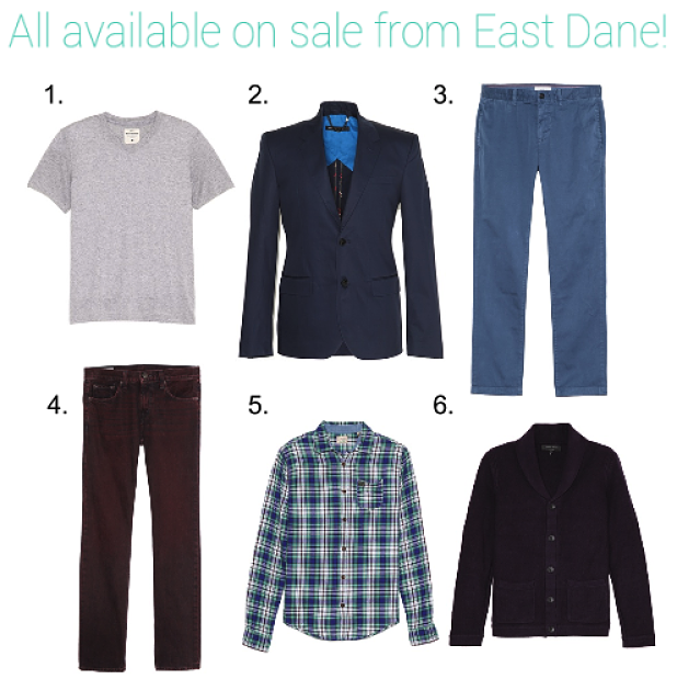 Introducing our newest men's retailer, East Dane