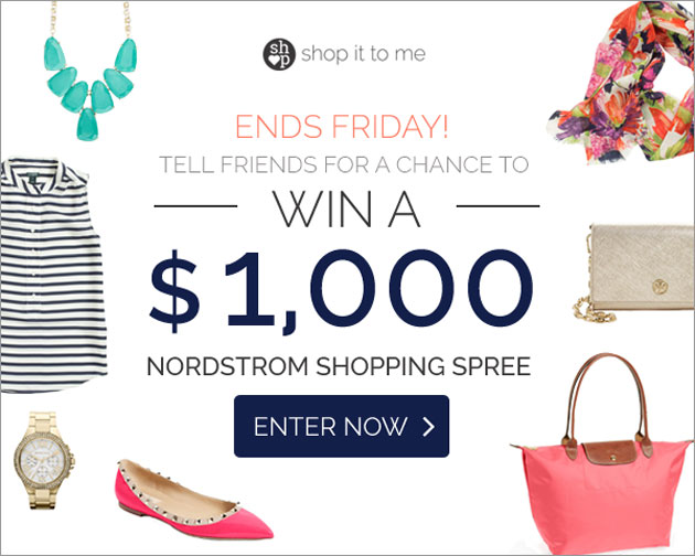GIVEAWAY! Win a $1,000 Nordstrom Shopping Spree [Closed]