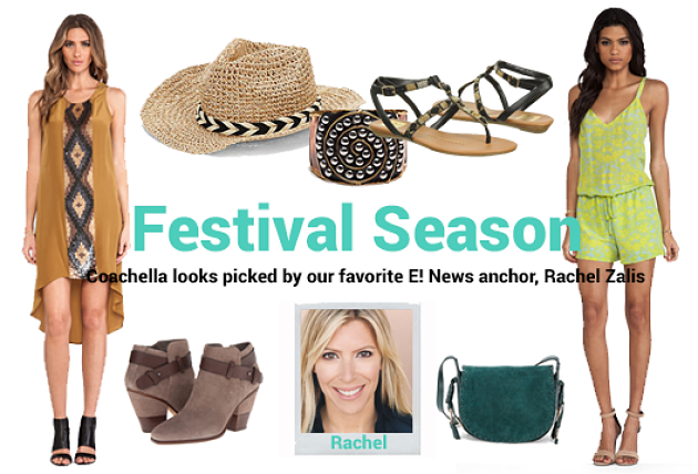 Fashion Expert Rachel Zalis' Fave Looks for Rocking your Coachella Style