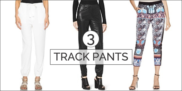 track pants - top 5 trends
