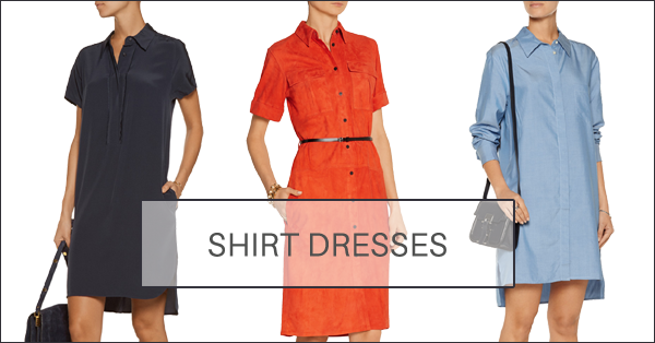It's a shirt, it's a dress . . . It's a shirt dress!