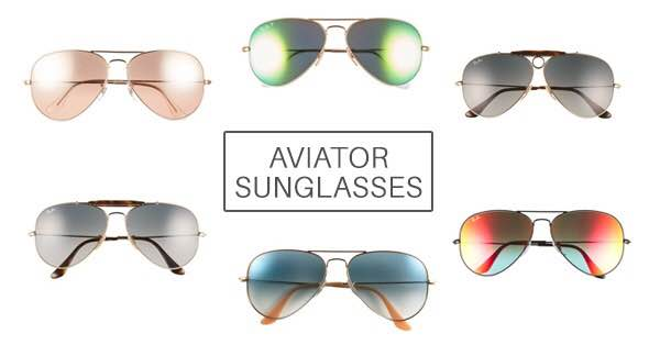 Aviator Sunglasses Add Cool to Any Outfit