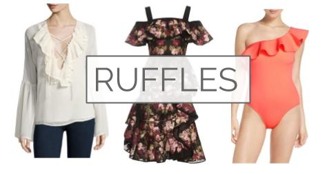 Be Bold in Ruffles this Summer
