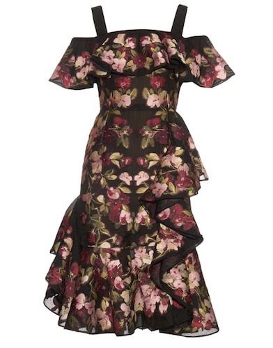 Alexander McQueen ruffled dress