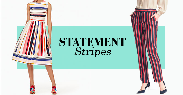 Trends for Summer '17: Statement Stripes