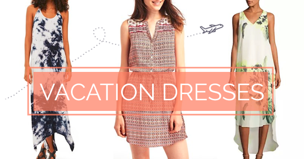 5 Vacation Dresses You Need in Your Suitcase