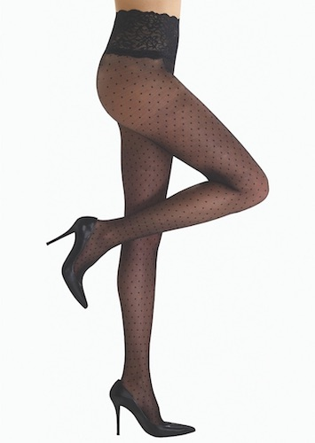 Commando + Chic Polka Dot Pantyhose