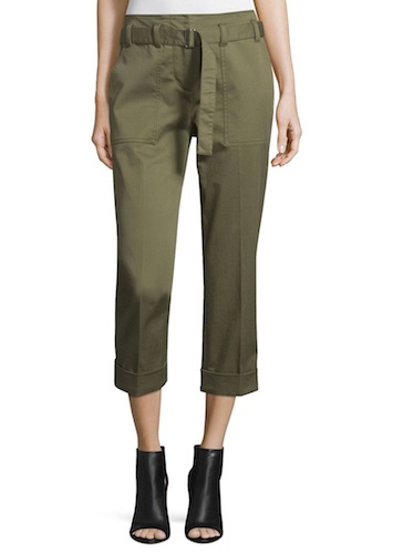 3.1 Phillip Lim Cropped Utility Pants