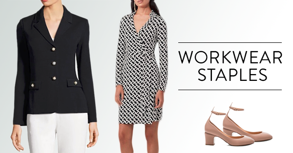 5 Work Wardrobe Staples Every Woman Needs
