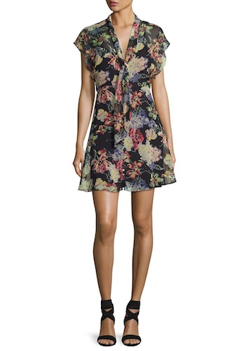 Haute Hipppie Floral Dress