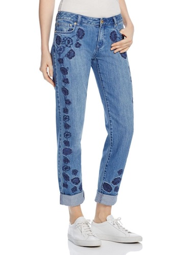 Michael Kors Embroidered Jeans