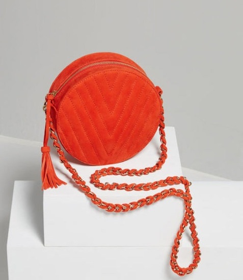 BCBG Chantel round bag