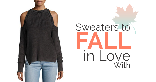 New Season Sweaters to Fall in Love With
